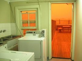 屋上,ランドリールーム,洗濯機,物干